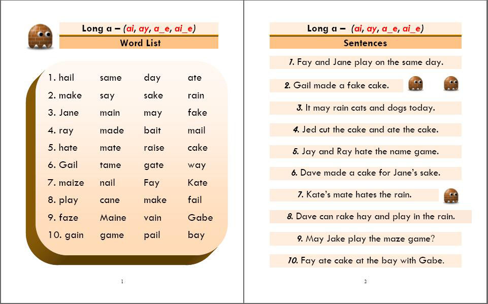 Phonics Monster Book 3 sample 1
