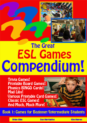The Great ESL Games Compendium! BOOK 1