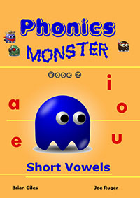 phonics monster book 1